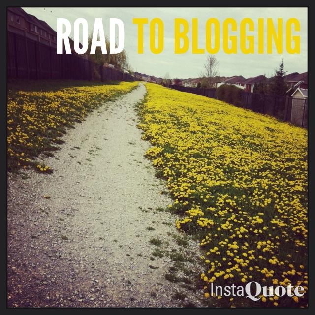 roadtoblogging